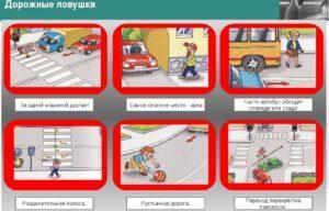 Основные правила техники безопасности на дороге