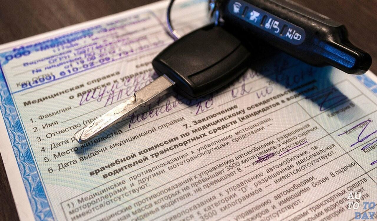Медицинское заключение для получения водительского удостоверения